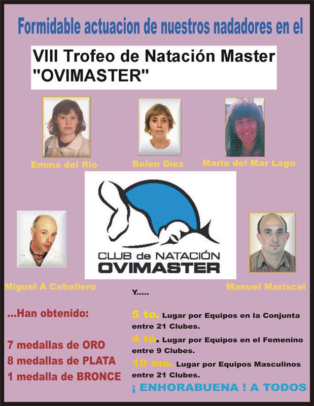 "VII Trofeo de Natación Master ""OVIMASTER"""