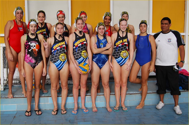 equipo waterpolo brains master madrid femenino