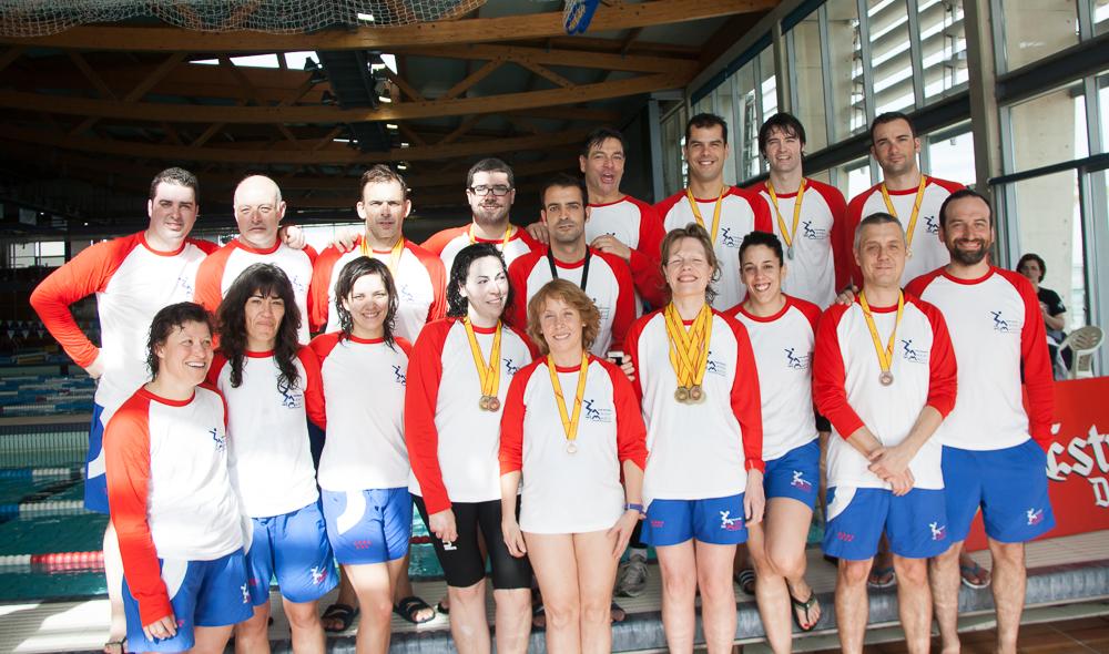 Club Natación Master Madrid - Cpto. España Master de Invierno Barcelona 2013