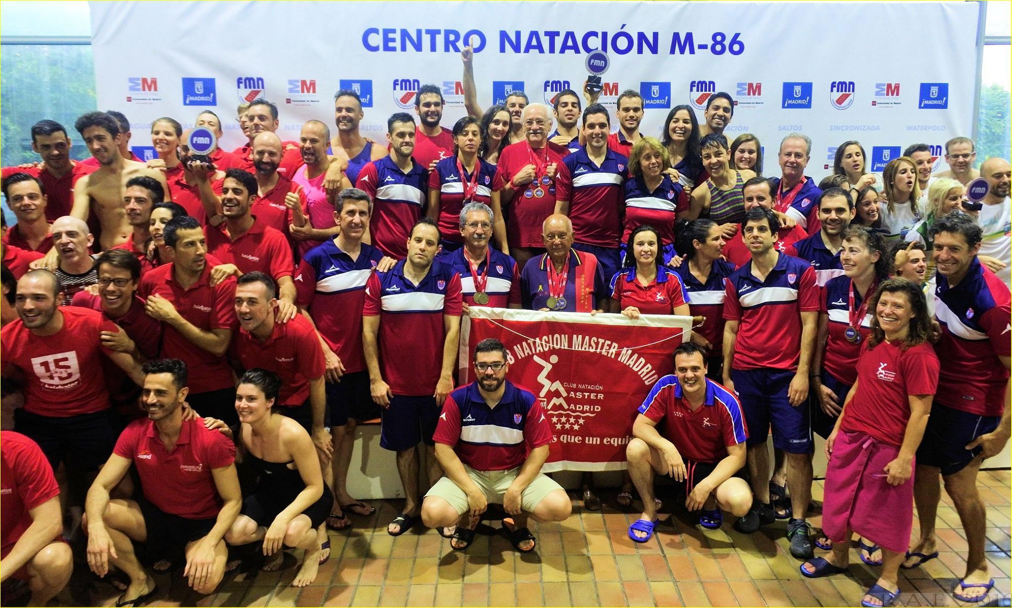club natacion master madrid