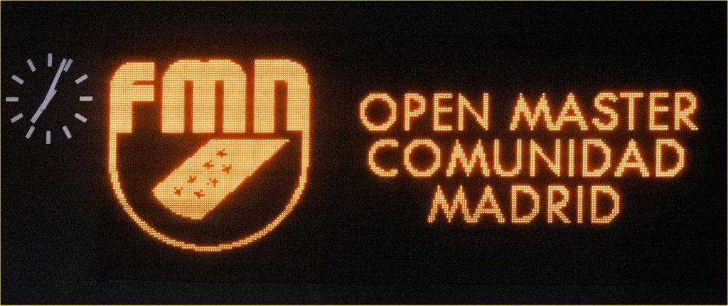 Open Master Madrid 2016