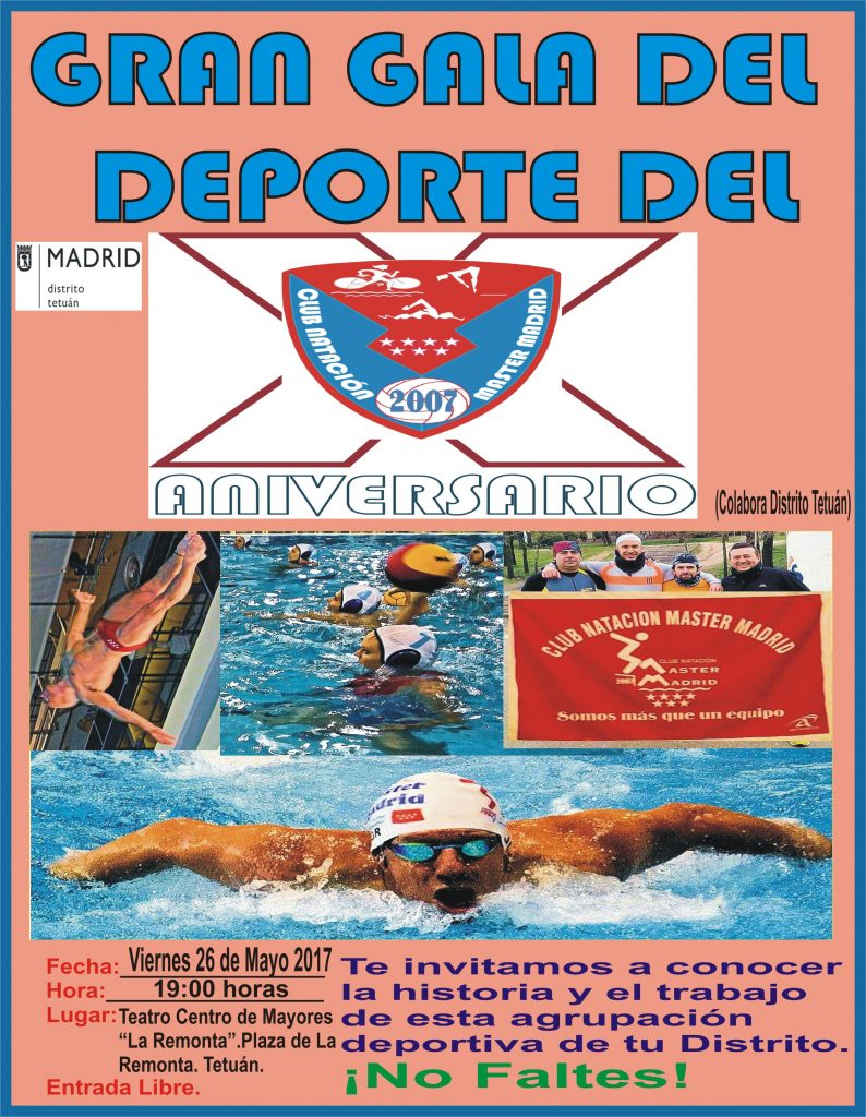 Gala del Deporte X aniversario CNMM