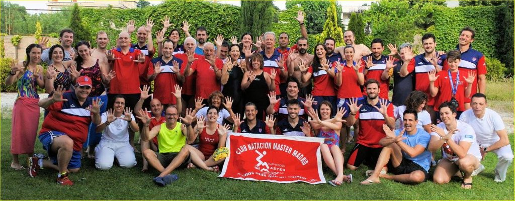 X Aniversario Club Natacion Master Madrid
